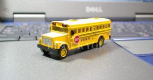 ミニチュアスクールバス